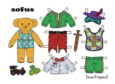 Teddy Bear Dolls
