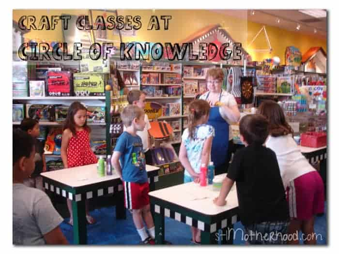 craft classes at circle of knowledge