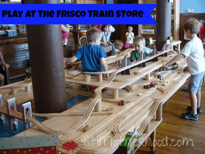 Frisco train store