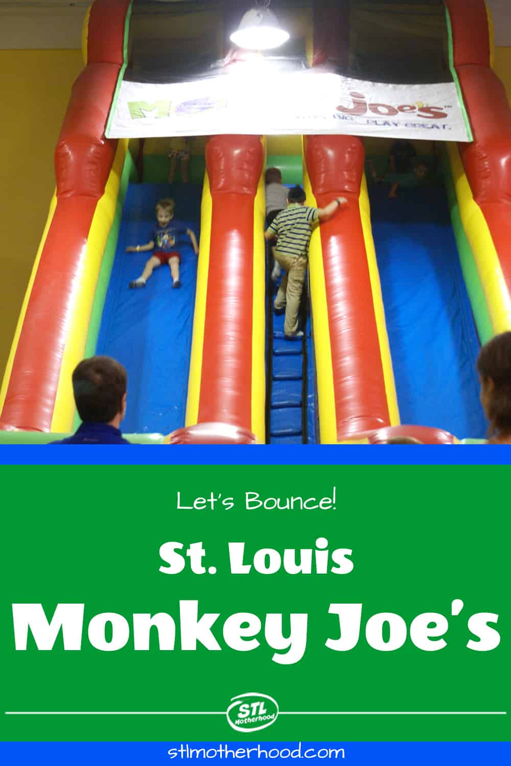 playing at Monkey Joes