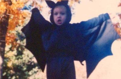 Halloween bat boy