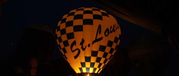 St. Louis Balloon race and glow