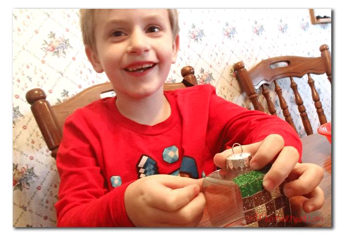 Minecraft Christmas Ornament
