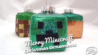Merry Minecraft: DIY Christmas Ornaments