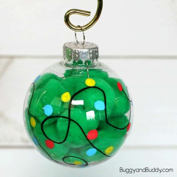 Christmas Light Ornament Craft