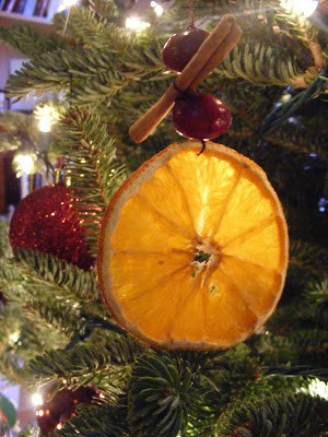 Dried Orange Ornaments