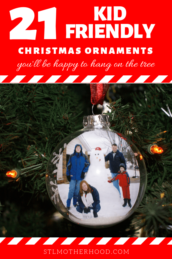 21 Christmas ornaments for kids to make