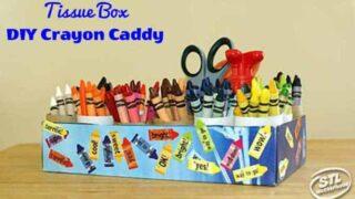 DIY Crayon Caddy