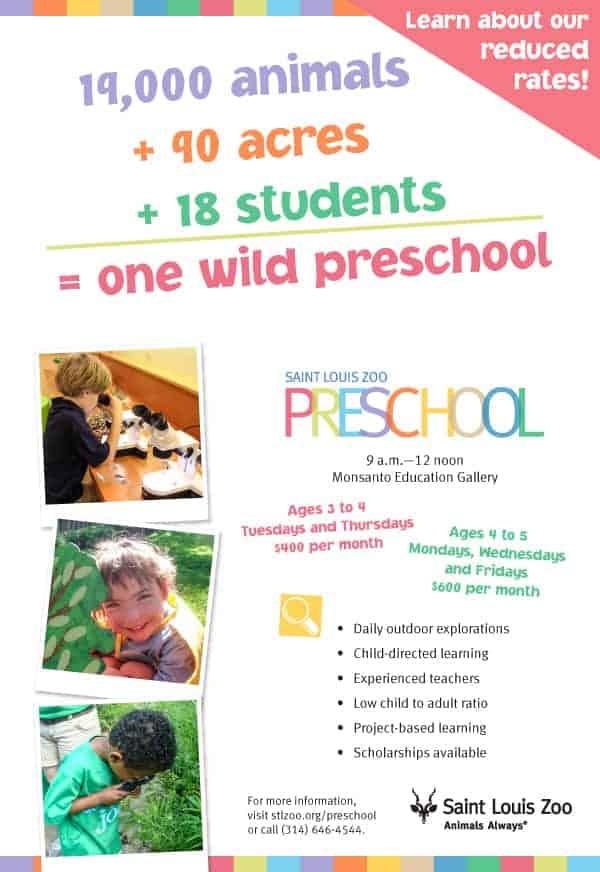 St. Louis Zoo Preschool