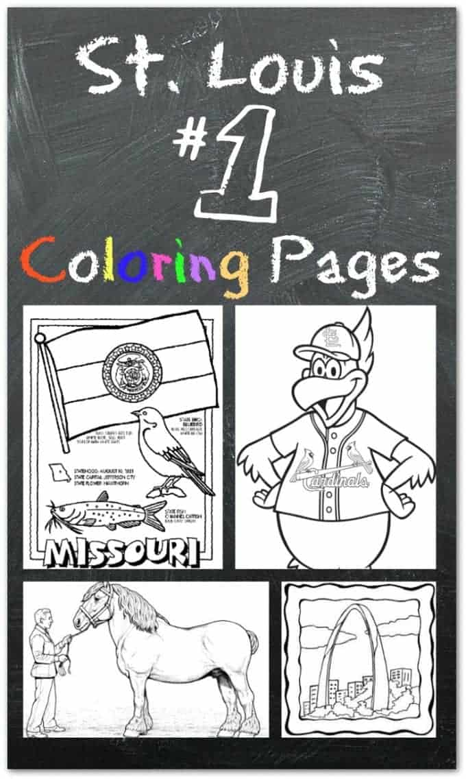 Coloring pages for St. Louis kids!
