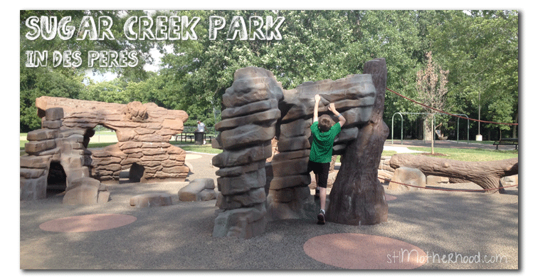 Sugar Creek Park, one of the best parks in St. Louis