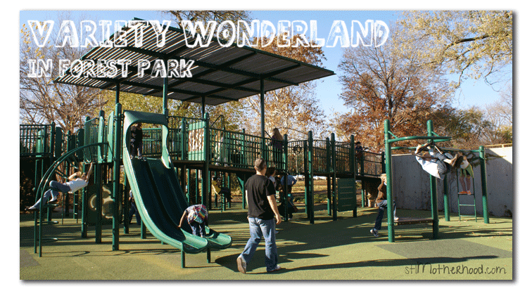 Variety Wonderland, one of the best parks in St. Louis