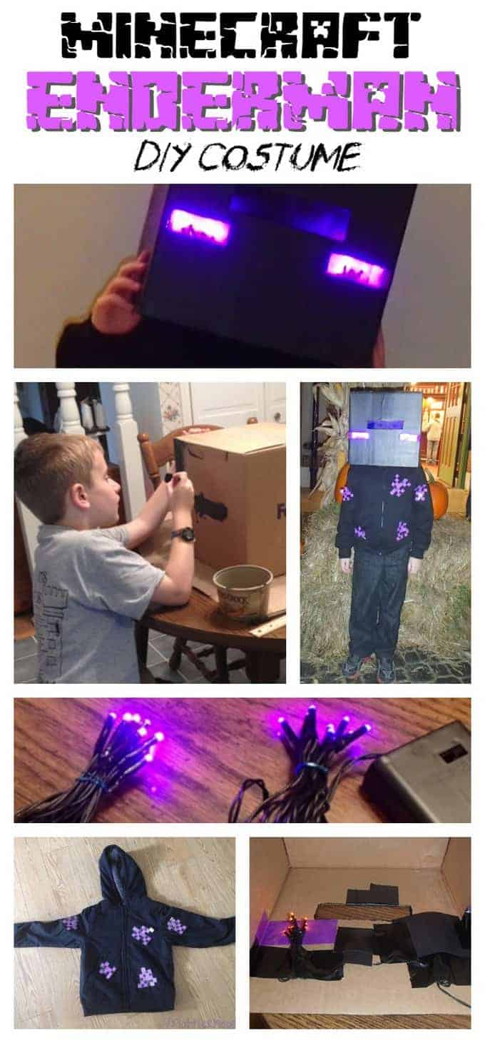 Diy Minecraft Enderman Costume