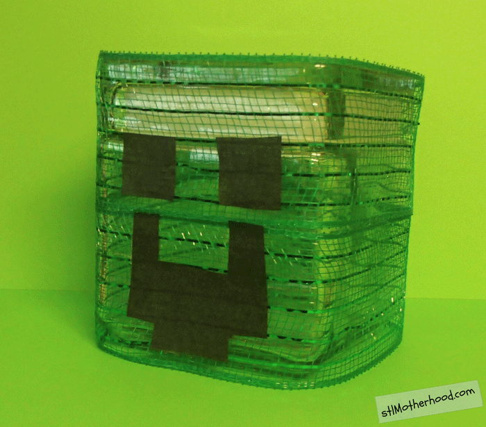 Minecraft candy jar