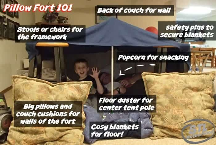 Pillow Fort 101 by Beer and Gluesticks