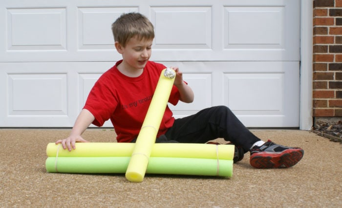 pool noodle catapult