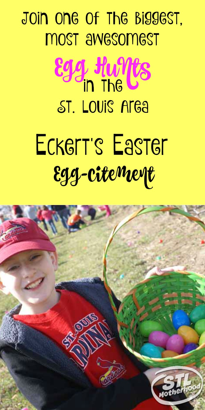 Eckerts Egg Hunts are awesome fun!