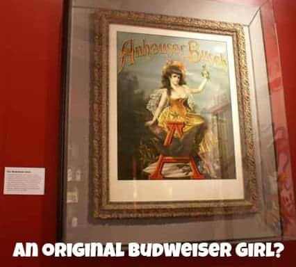 An original Budweiser Girl?