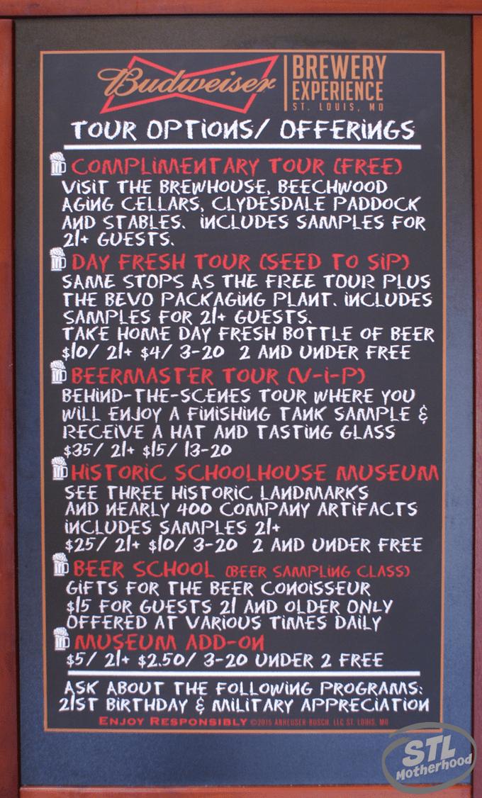 Anheuser Busch Brewery Tours
