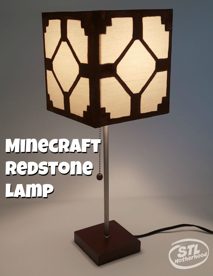 Minecraft redstone lamp