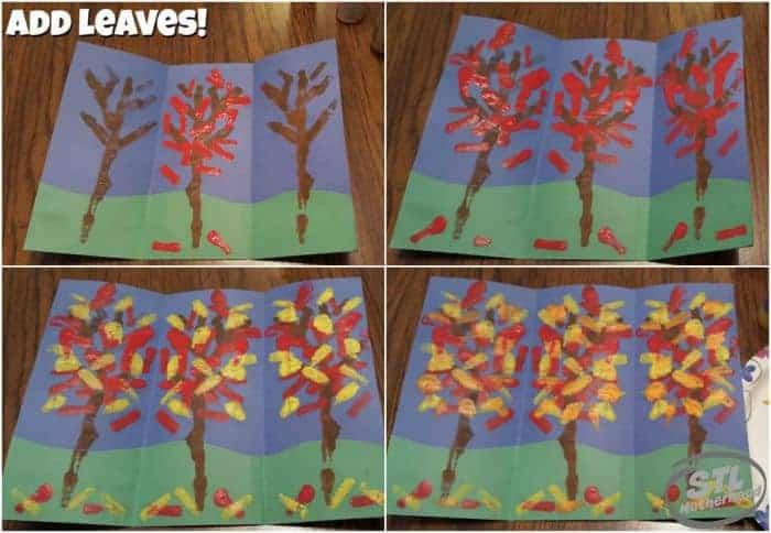Mirror Tree Painting
