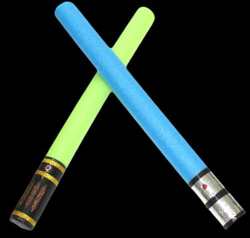 Star Wars Light Saber pool noodle