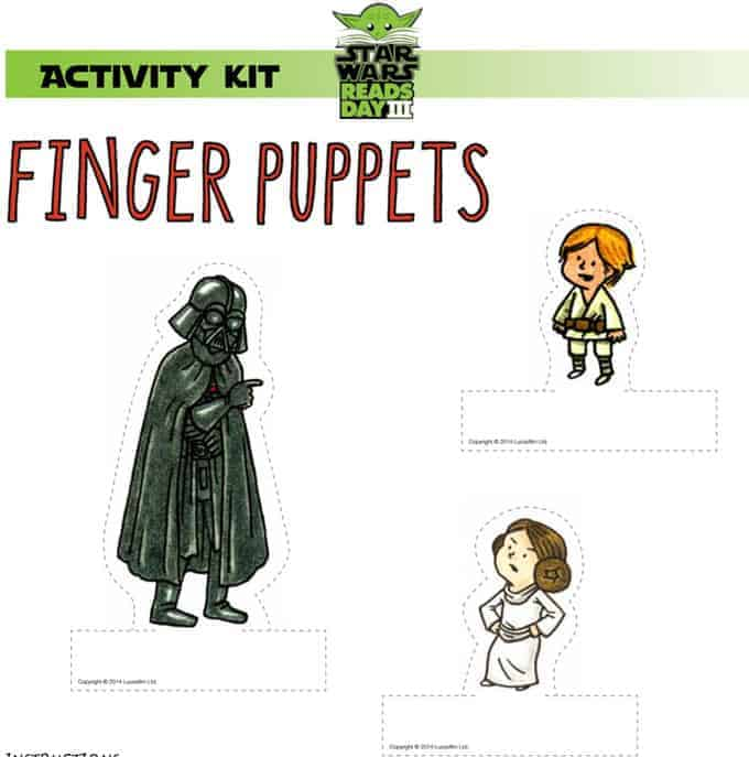 Star Wars Reads 2014 free printable