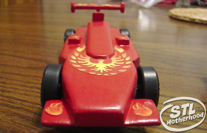 pinewood derby stickers