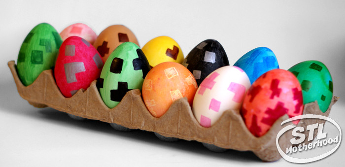 Minecraft Spawn Eggs in real life