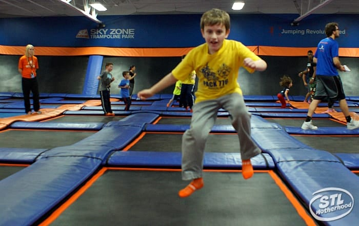 Skyzone birthday parties are freakin awesome