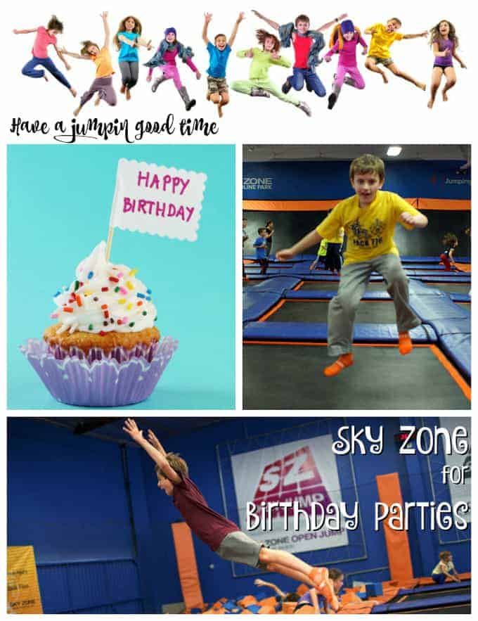 Sky Zone for the best Birthday Party ever!