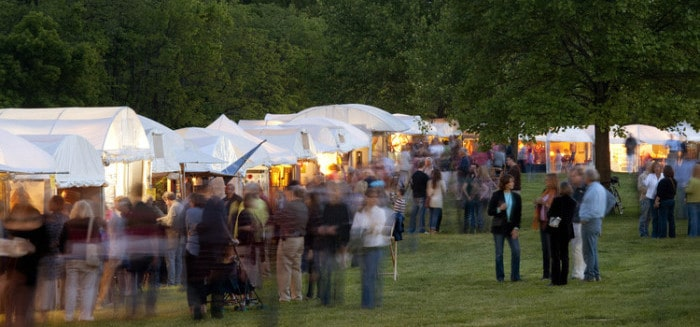 The 2011 Art Fair at Laumeier Sculpture Park in Sunset Hills, Missouri. Photo by Kevin J. Miyazaki