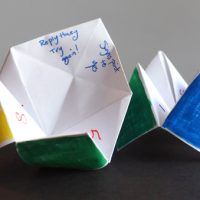 Origami Fortune Teller Craft For Students