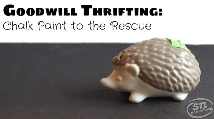 Goodwill upcycle hedgehog