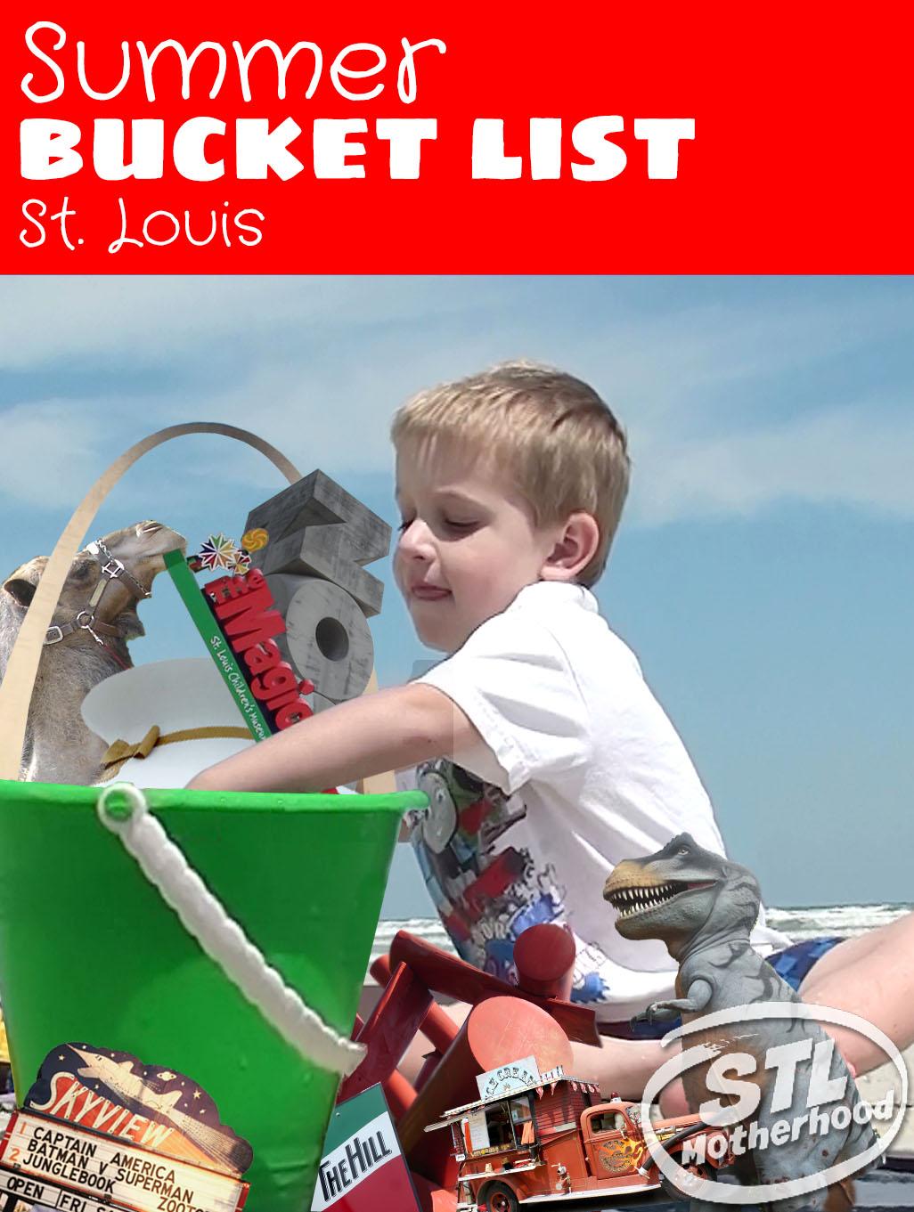 Summer Bucket List for kids in St. Louis