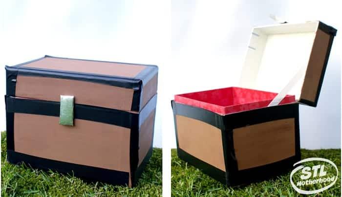 recipe box into Minecraft chest
