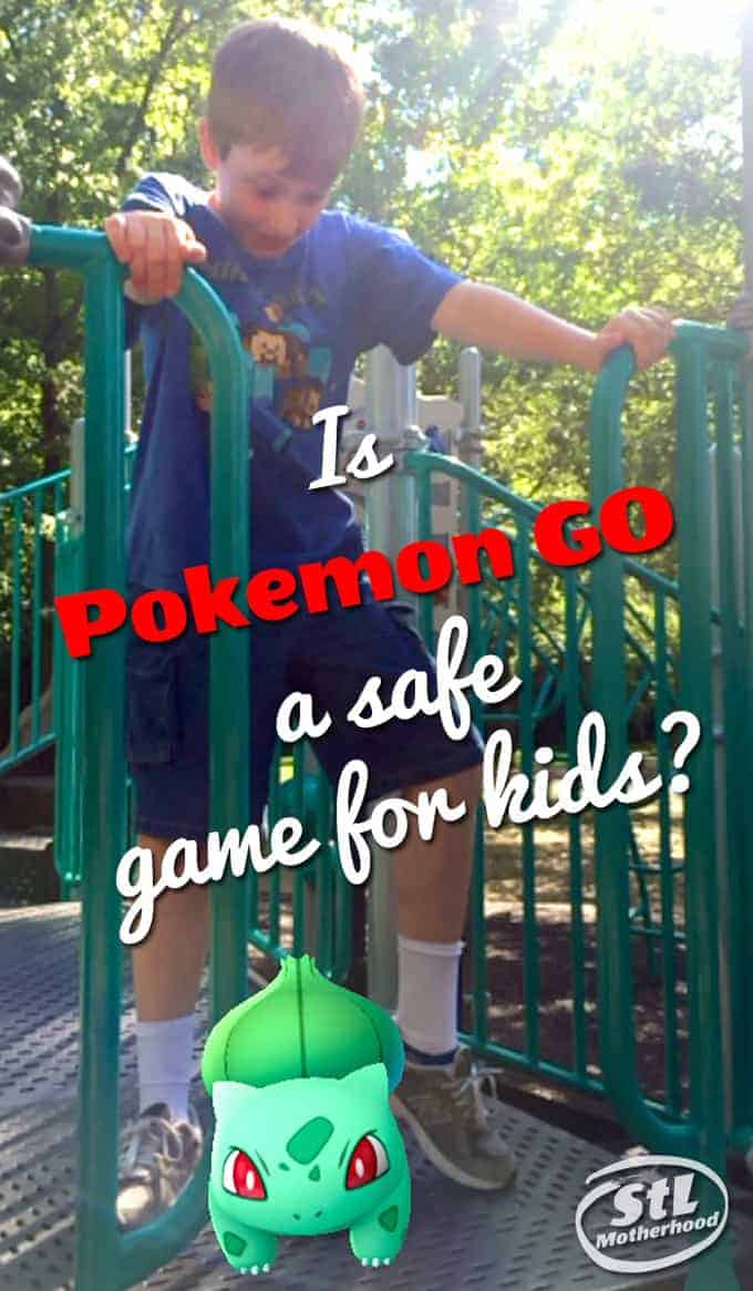 Pokemon GO for kids