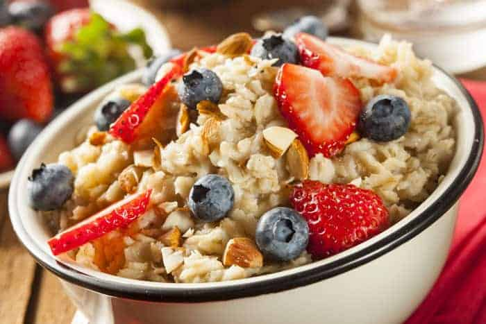 oatmeal is a good and healthy breakfast