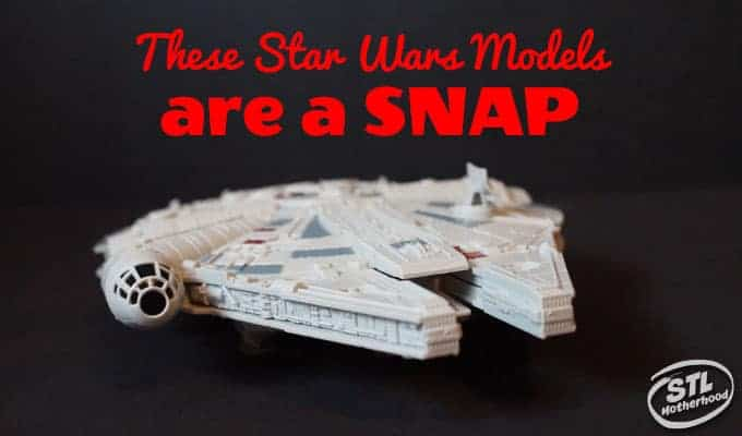 Star Wars Models are a snap
