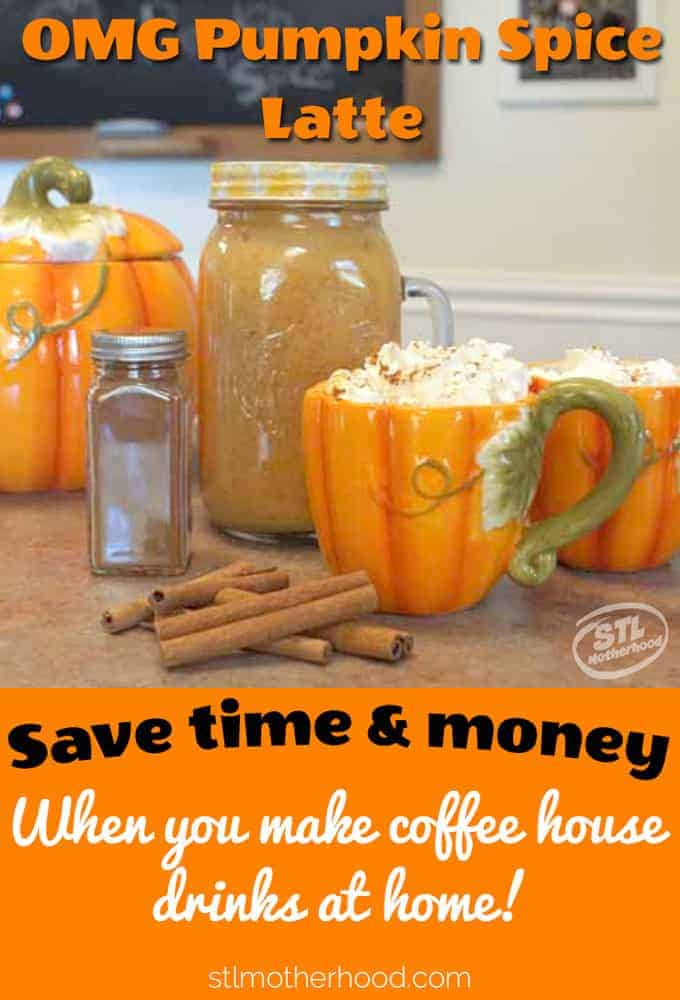 Save $$ when you make your own Pumpkin Spice Latte at home