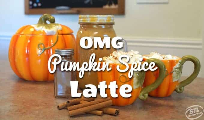 Quick and easy Pumpkin Spice Latte in your kitchen