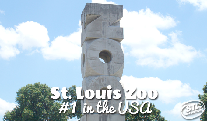 The FREE St. Louis Zoo is ranked #1 in America