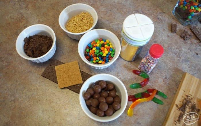 edible dirt for STEM