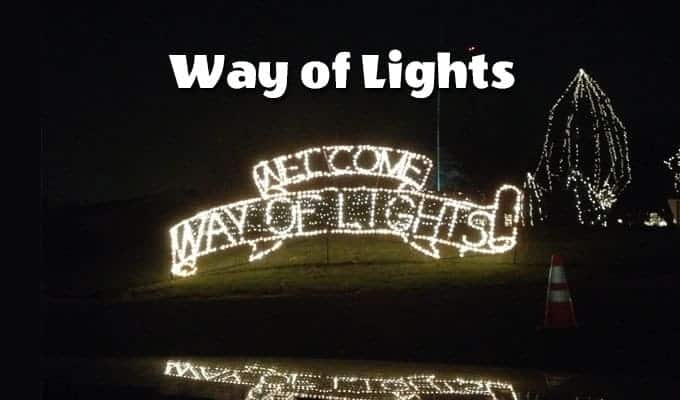 way of lights Christmas in Belleville