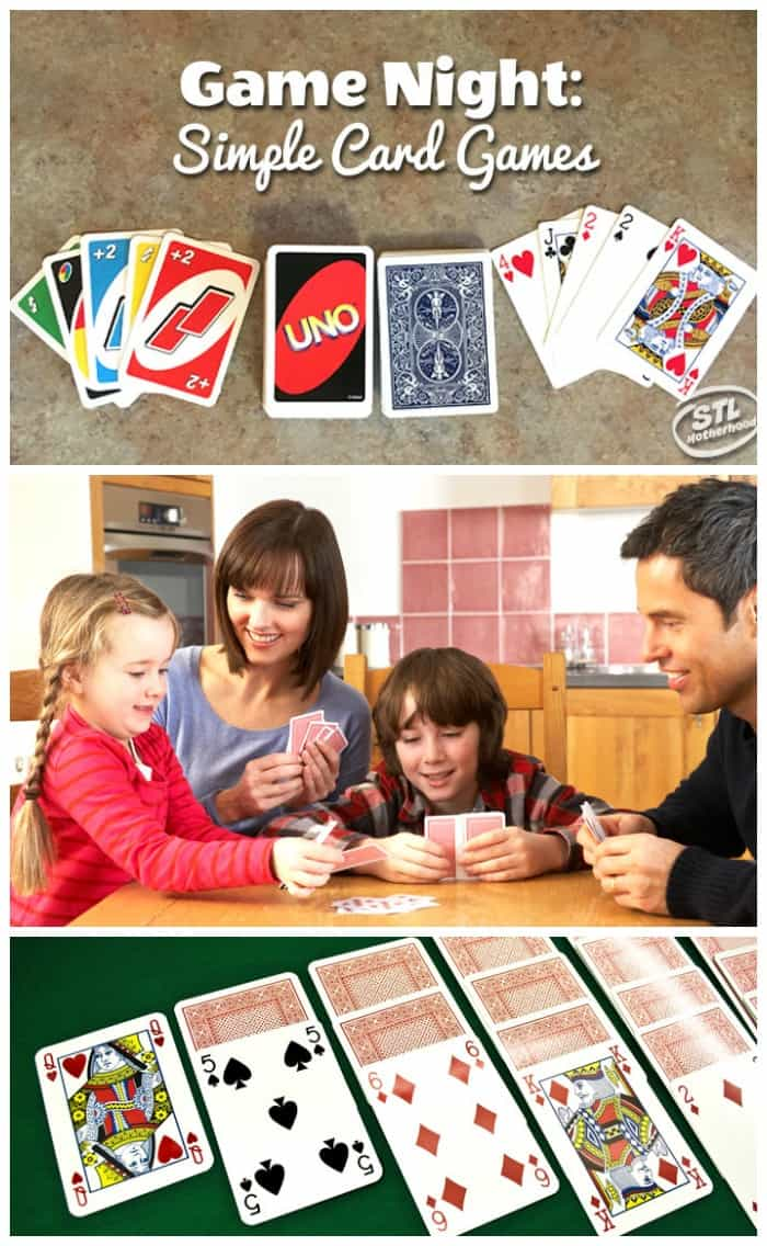 Perfect card games for family game night!