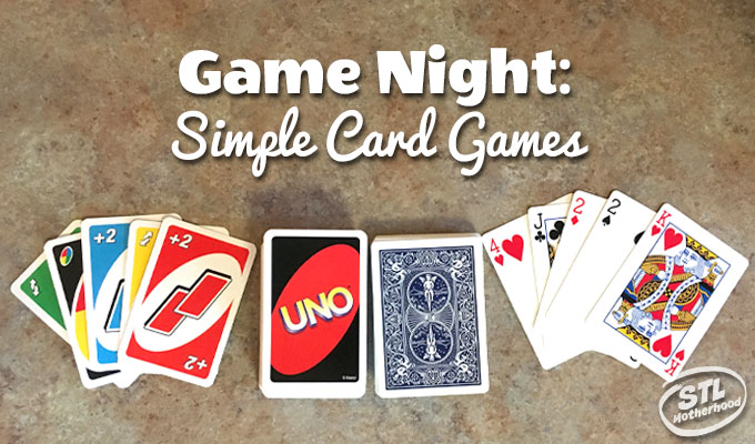 Simple Card games for kids