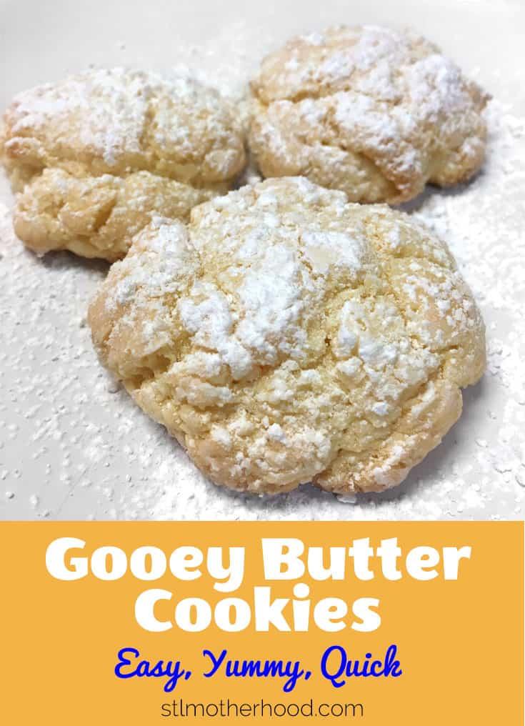 Gooey Buttery cookies