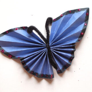 How to Fold a Paper Butterfly