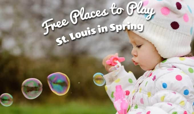 Free places to play in spring St. Louis