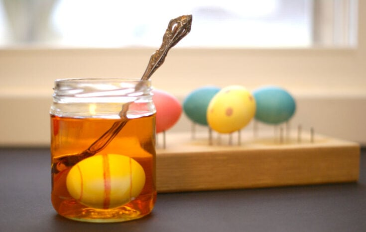 99 Ways to Dye an Easter Egg...But You Just Need This One